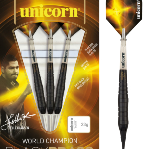 Unicorn Black Brass Jelle Klaasen Soft Darts